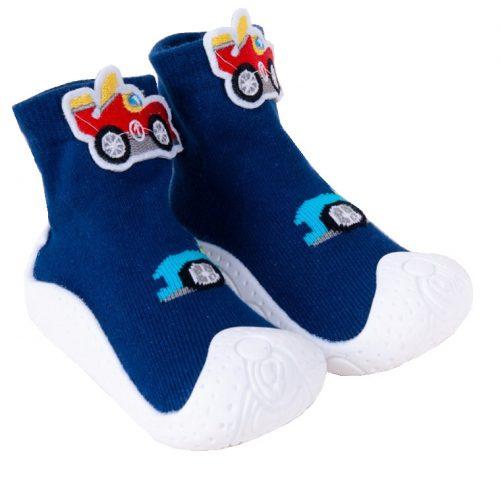 Botki buciki dla niemowląt i dzieci z gumowa podeszwą 23
