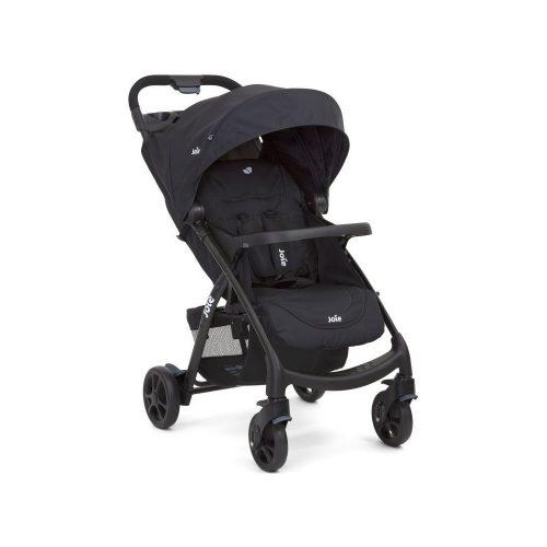 Wózek spacerowy Muze tacka dla dziecka i rodzica Joie Black