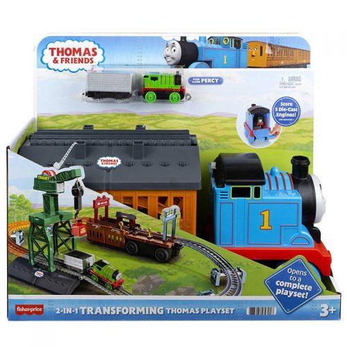 Tomek i Przyjaciele  transformacja rozkładany zestaw 2w1 GXH08 Fisher-Price