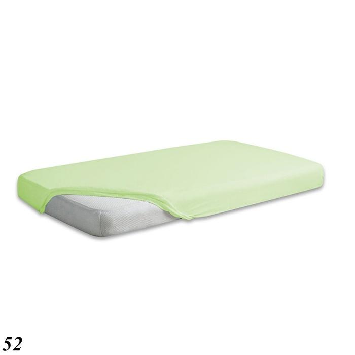 Prześcieradło do łóżeczka 120x60 z gumka Jersey Baby Matex pistacja