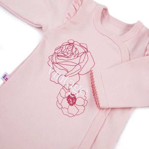 Ewa klucze rozpinane body długi rękaw Roses 62