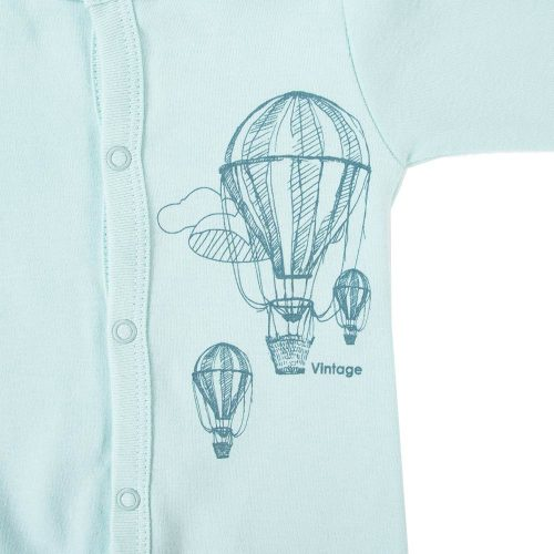 Ewa klucze półśpioszki niemowlęce Balloons 5 turkus