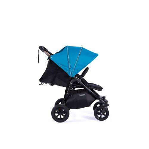 Wózek spacerowy Valco Baby Snap 4 Sport na pompowanych kołach, kolor Black Ocean