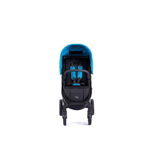 Lekki wózek spacerowy 6,6 kg Valco Baby Snap 4 kolor Black Blue + GRATIS