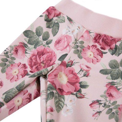 Ewa Klucze spodnie dresowe Roses druk 92