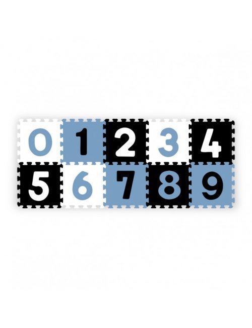 Piankowe puzle nauka i zabawa cyfry 10szt BabyOno