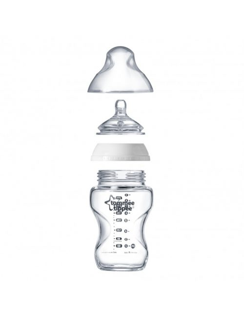 Tommee Tippee szklana butelka do karmienia 250 ml